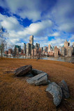 Fototapeta Nowy York - New York City Manhattan Skyline © Bokicbo