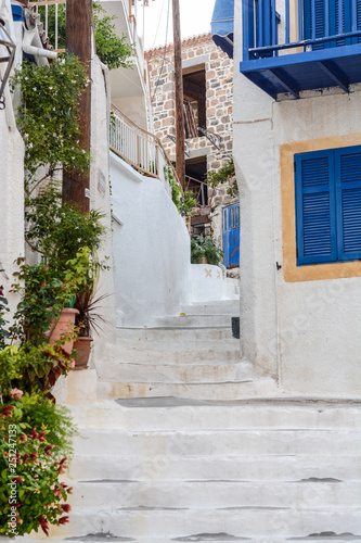 travel, greek, outdoor, sea, background, white, vacation, beautiful, greece, summer, hotel, picturesque, table, park, street, italy, restaurant, holiday, terrace, beach, sky, aroma, break, mediterrane © Ruzica