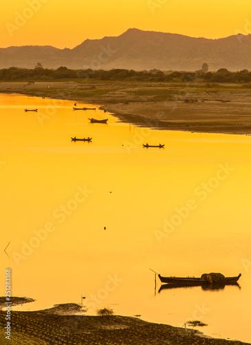 obraz PCV landscape in pugan,myanmar