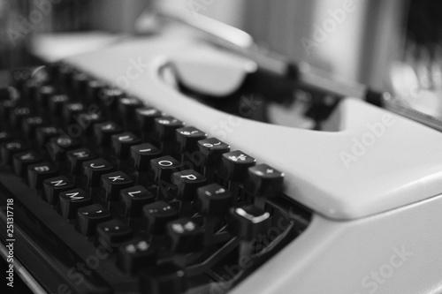 Vintage Typewriter  © stewart