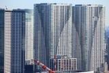 Massive apartment buildings