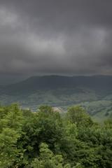 Regen über einem Tal © EinBlick
