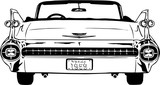 1959 Cadillac Vector Illustration