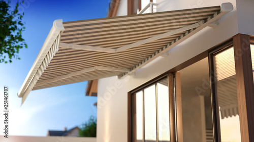 Canvas Awning © Kange Studio