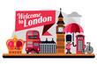 London vector flat style illustration