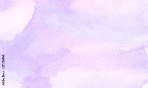 mata magnetyczna Vintage light purple watercolor paint hand drawn illustration with paper grain texture for aquarelle design. Abstract grunge violet gradient violet water color artistic brush paint splash background