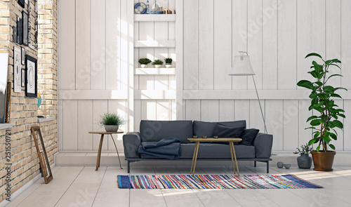 modern interior design. - 251550721