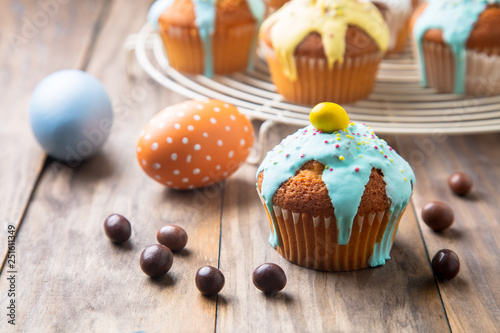Easter cupcakes for children