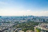 Japan Tokyo Roppongi city buildings urban landscape aerial view day time clear weather