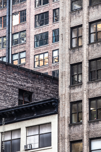 obraz lub plakat Cityscape of various buildings in New York City