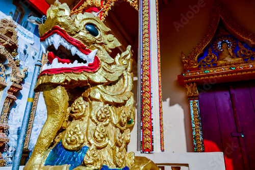 temple in thailand, digital photo picture as a background © underworld