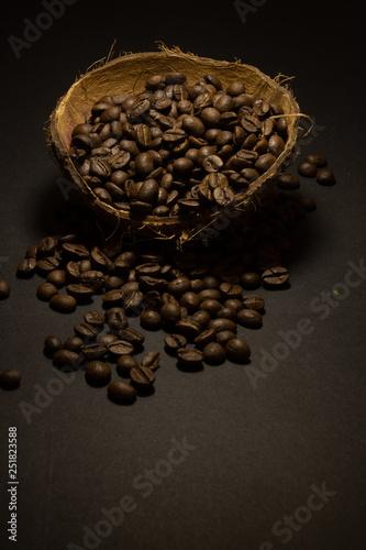 Coffee beans in macro © ofir