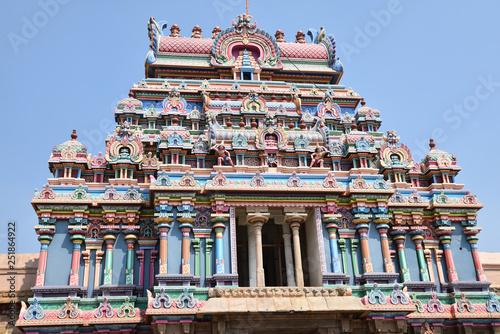 Temple hindou de l'Inde du Sud - 251864922