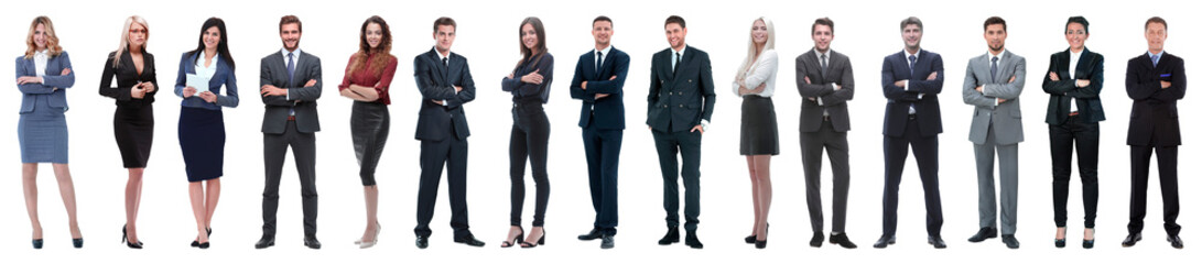 Young attractive business people - the elite business team © ASDF