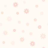 Rose flower pattern. Seamless vector
