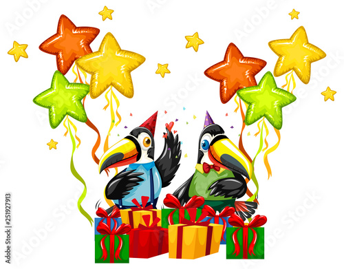 Toucan celebrate a birthday