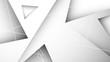 trójkąty białe abstrakcyjne tło wektor