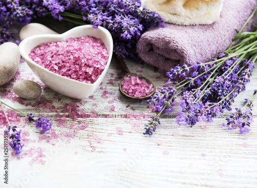 Lavender spa set - 251973598