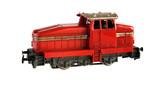Railroad locomotive model