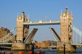 Tower Bridge opening, London, UK