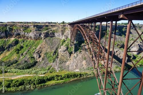 Perrine Bridge Over Snake River Canyon Twin Falls Idaho Buy