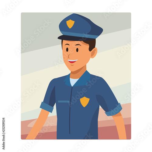 policeman avatar portrait © Jemastock