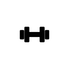 barbell glyph vector icon © fersus art