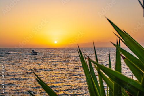 obraz PCV sunset on tenerife