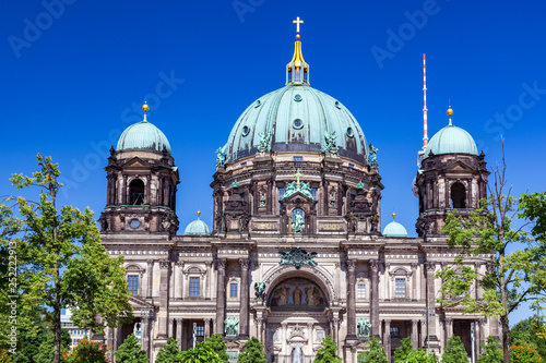German Berliner Dom on a summer day. © Photocreo Bednarek