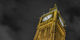 Fototapeta Big Ben - Big Ben clock tower at night © RichartPhotos
