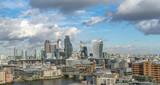 Fototapeta Londyn - the financial district skyline of london  © RichartPhotos