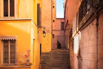 escaliers du passage thiaffait à lyon