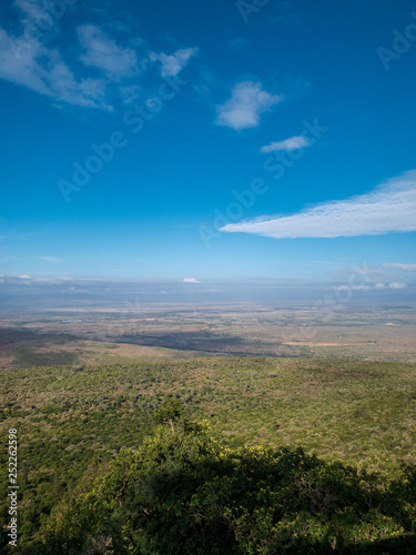 African savannah landscape in Maasai Mara National Reserve, Kenya, South Africa. © Nejron Photo