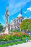 Fototapeta Paryż - Notre Dame de Paris © Roman Sigaev