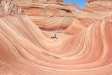 Hiking the wave - Arizona