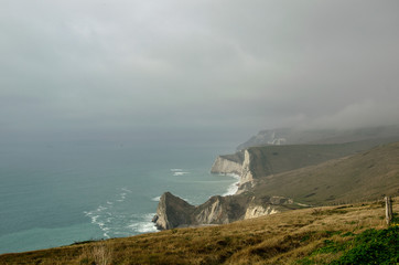 Les falaise de Dorset; Angleterre © phil1newman