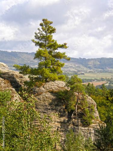 Czech Paradise. Czech. Europe. Mountain landscape.