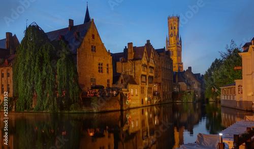 obraz lub plakat View of Brugge