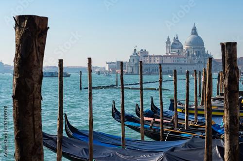 mata magnetyczna Santa Maria Della Salute Basilica in Venice