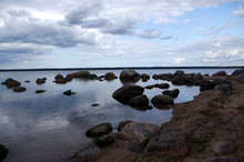 "Постер, картина, фотообои ""cote mer baltique, Estonie"""
