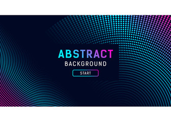 Abstract digital dot effect background, vector illustration