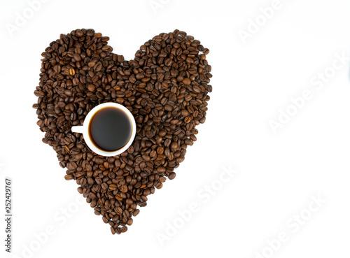 coffee and coffee beans © banusevim
