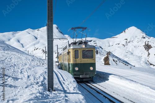 Zug in der Jungfrau Region