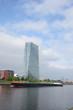 Main und EZB in Frankfurt