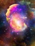 Fototapeta Kosmos - Design Nebula © agsandrew