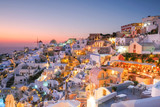 After Sunset in Oia, Santorini