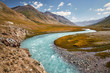 Leinwanddruck Bild - Mountains of Kyrgyzstan
