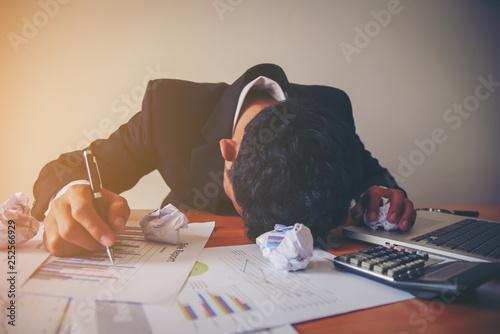 Foto Murales Stressful jobs