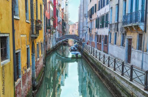 obraz PCV The canals venice veneto italy