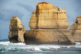 big sandstone rocks at the Great Ocean Road in Australia